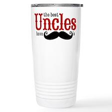Best Uncles Have Mustac Travel Mug