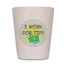 TipsButton3 Shot Glass