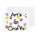 Art's & Craft's Greeting Cards (Pk of 10)