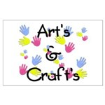 Art's & Craft's Large Poster