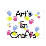 Art's & Craft's Postcards (Package of 8)
