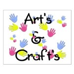 Art's & Craft's Small Poster