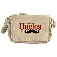 Best Uncles Have Mustaches Messenger Bag