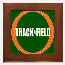 Track and Field Framed Tile
