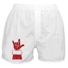 santa-loveyou-red Boxer Shorts
