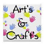 Art's & Craft's Tile Coaster