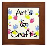 Art's & Craft's Framed Tile