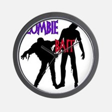 zombie bait copy Wall Clock