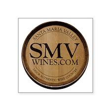 """SMV_logo_sm Square Sticker 3"""" x 3"""""""