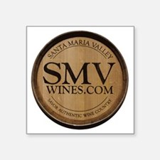 "SMV_logo_sm Square Sticker 3"" x 3"""