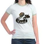 Biology Teacher Jr. Ringer T-Shirt