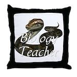 Biology Teacher Throw Pillow