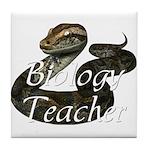 Biology Teacher Tile Coaster