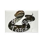 Biology Teacher Rectangle Magnet