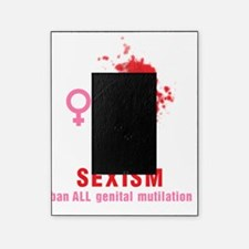 supporting circumcision is sexism Picture Frame