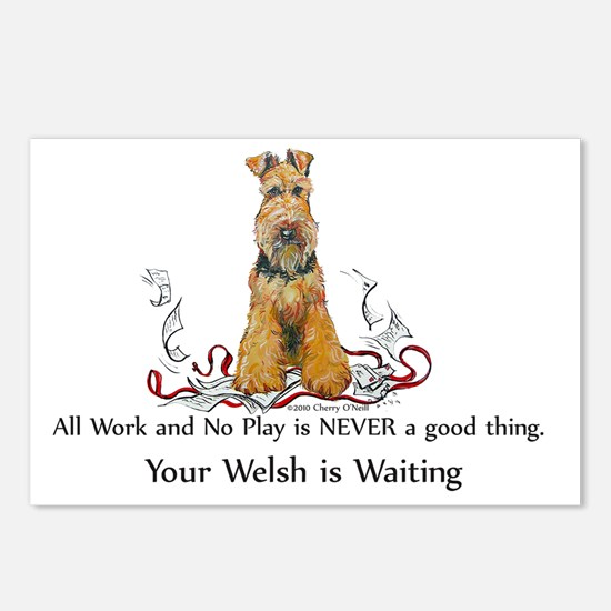 welsh work 12 Postcards (Package of 8)