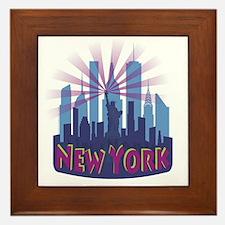 NYC Newwave7 cool Framed Tile