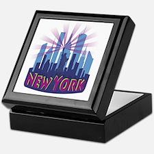NYC Newwave7 cool Keepsake Box
