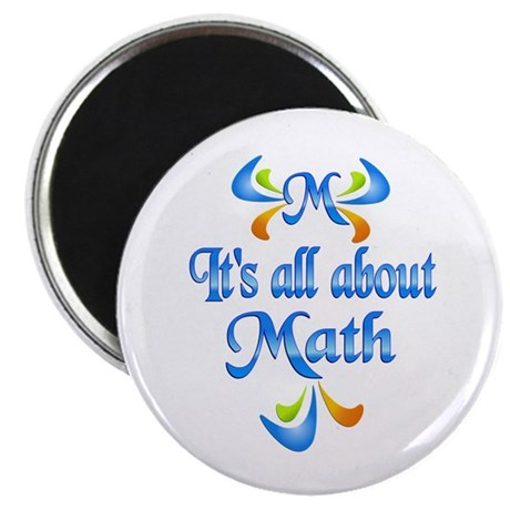 "About Math 2.25"" Magnet (100 pack)"