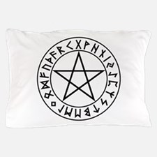 Rune Shield Pentacle Pillow Case