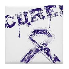 CURE! Tile Coaster