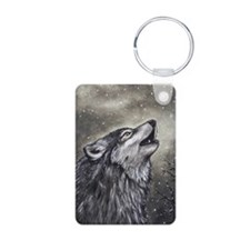 Cover, Wolf 001 Keychains