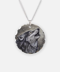 Cover, Wolf 001 Necklace