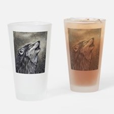 Cover, Wolf 001 Drinking Glass