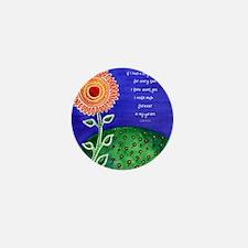 Sunflower tote Mini Button