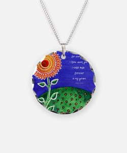 Sunflower tote Necklace