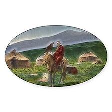 Kazakh Horseman Decal