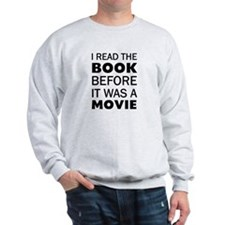 I Book Movie Sweatshirt