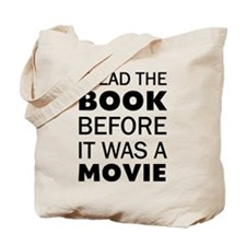 I Book Movie Tote Bag