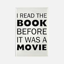 I Book Movie Rectangle Magnet