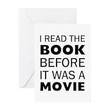 I Book Movie Greeting Card