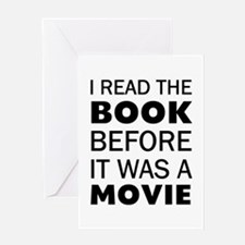 I Book Movie Greeting Card