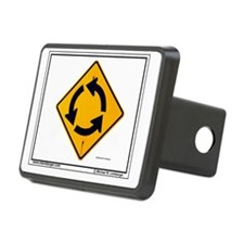 ZZ-Roundabout mousepad Hitch Cover
