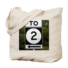 ZZ- TO 2 Sign mousepad Tote Bag