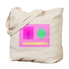 Minimalism Pink Tote Bag