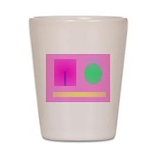 Minimalism Pink Shot Glass