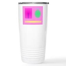 Minimalism Pink Travel Mug