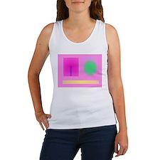 Minimalism Pink Tank Top