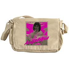 Angelique pink Messenger Bag