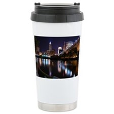 Cle Skyline Travel Mug
