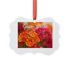 Golden Jubilee Ornament