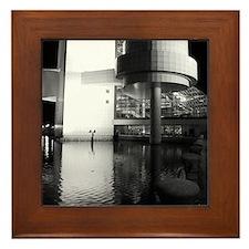 Rock and Roll Hall of Fame Framed Tile