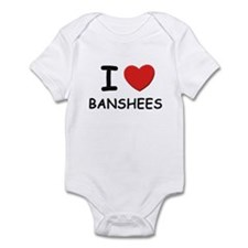 I love banshees Infant Bodysuit