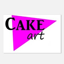 Cake art deco Postcards (Package of 8)