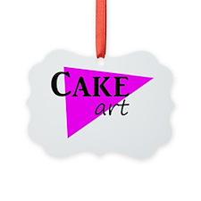 Cake art deco Ornament