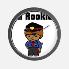 rookie cop Wall Clock